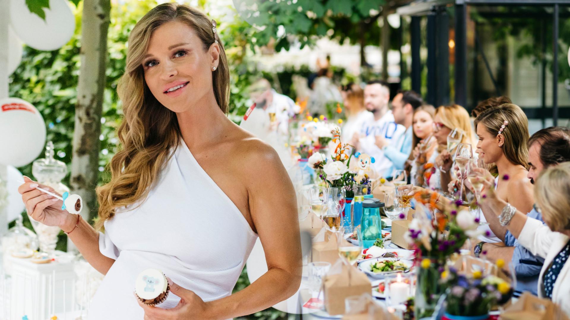 WOW! Baby shower Joanny Krupy prawie jak wesele! (ZDJĘCIA)