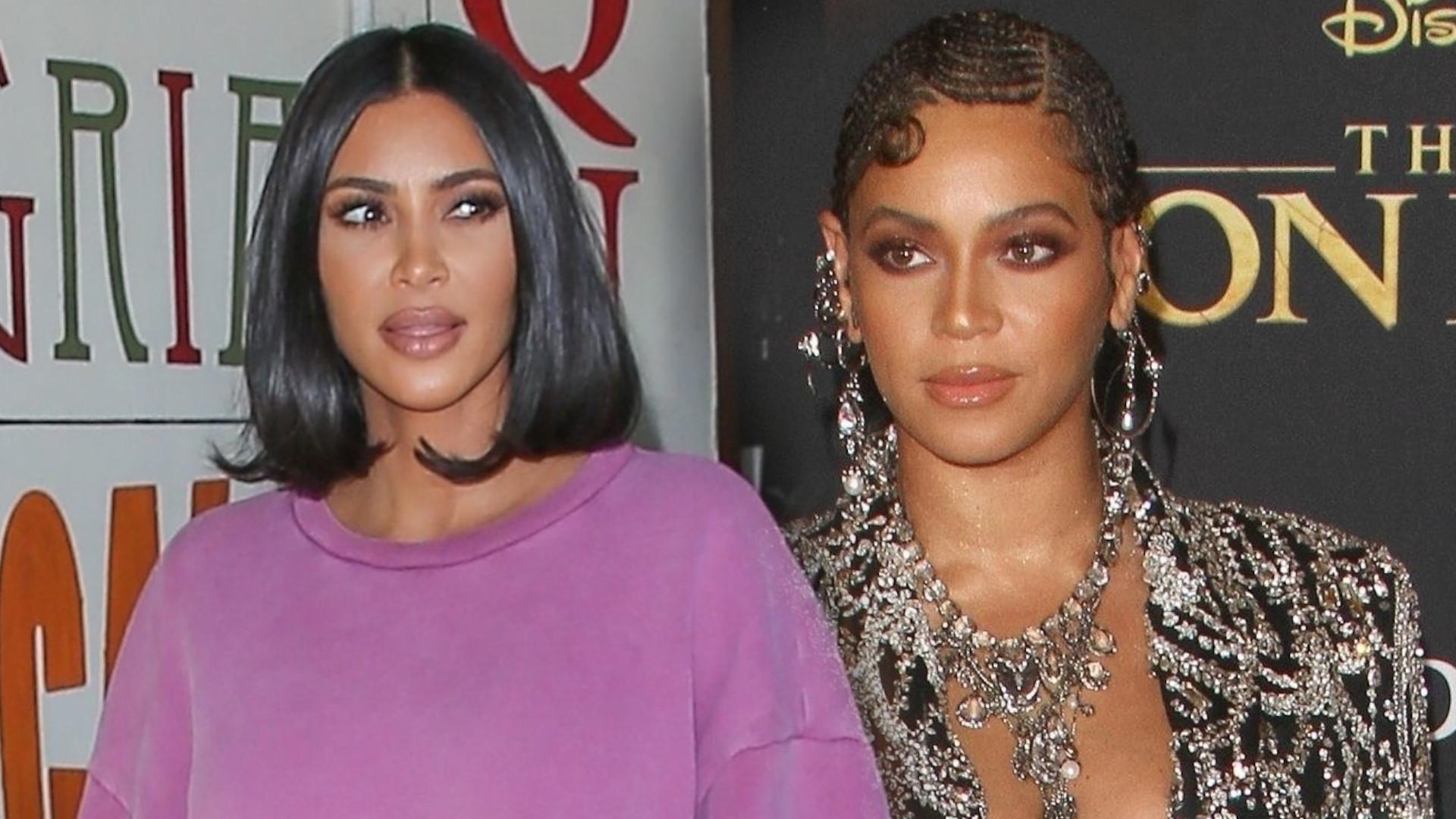 Kim Kardashian poszła do chirurga plastycznego i poprosiła o twarz Beyonce