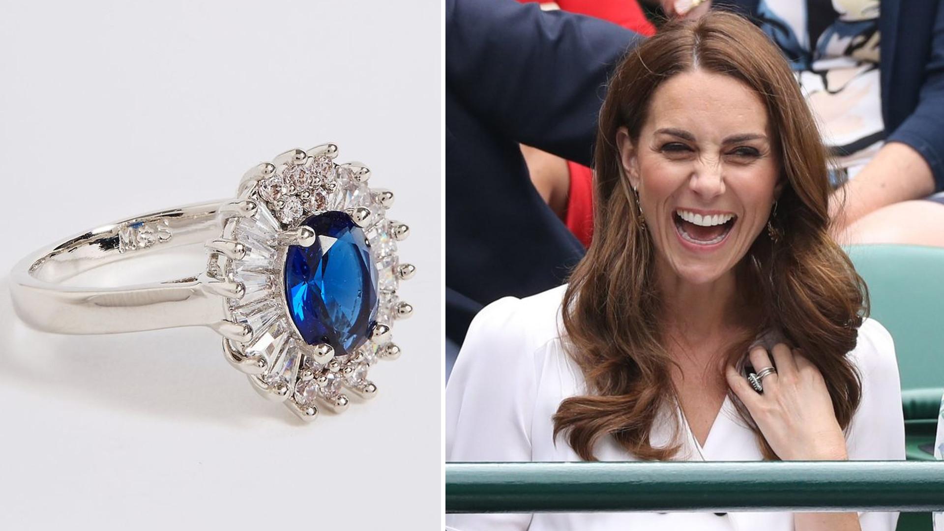 Jeśli lubisz styl Kate, możesz mieć podobny pierścionek do jej zaręczynowego