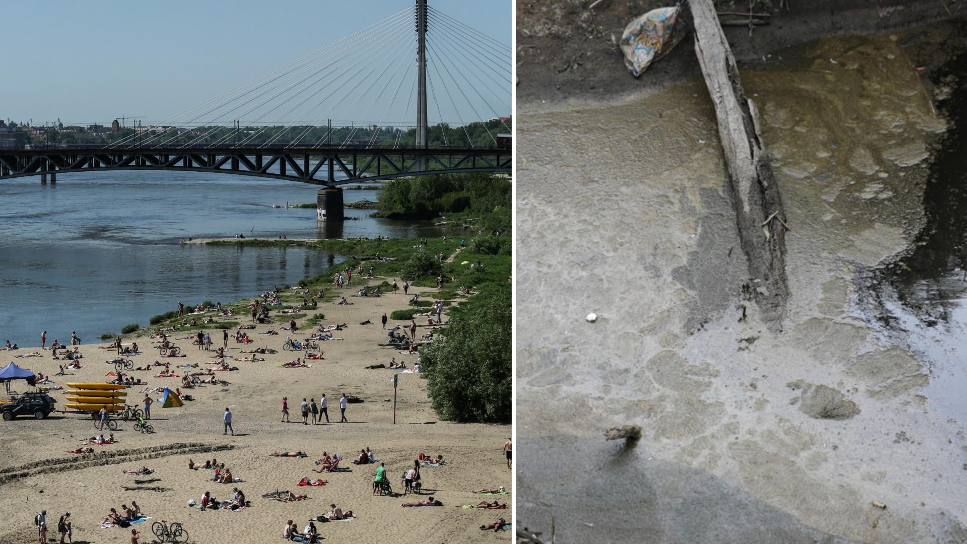 Katastrofa ekologiczna w Warszawie. Ścieki wpuszczane są do Wisły!