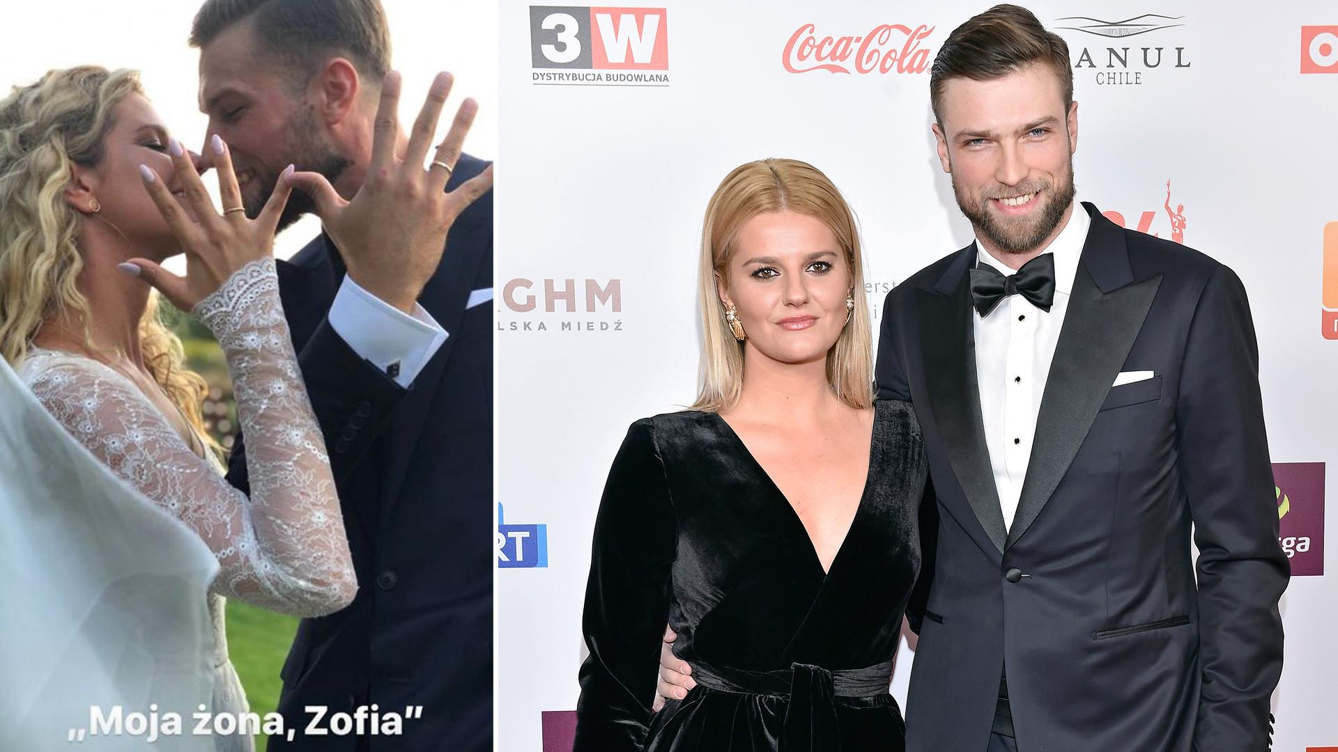 Zofia Zborowska wyszła za mąż za siatkarza, Andrzeja Wronę