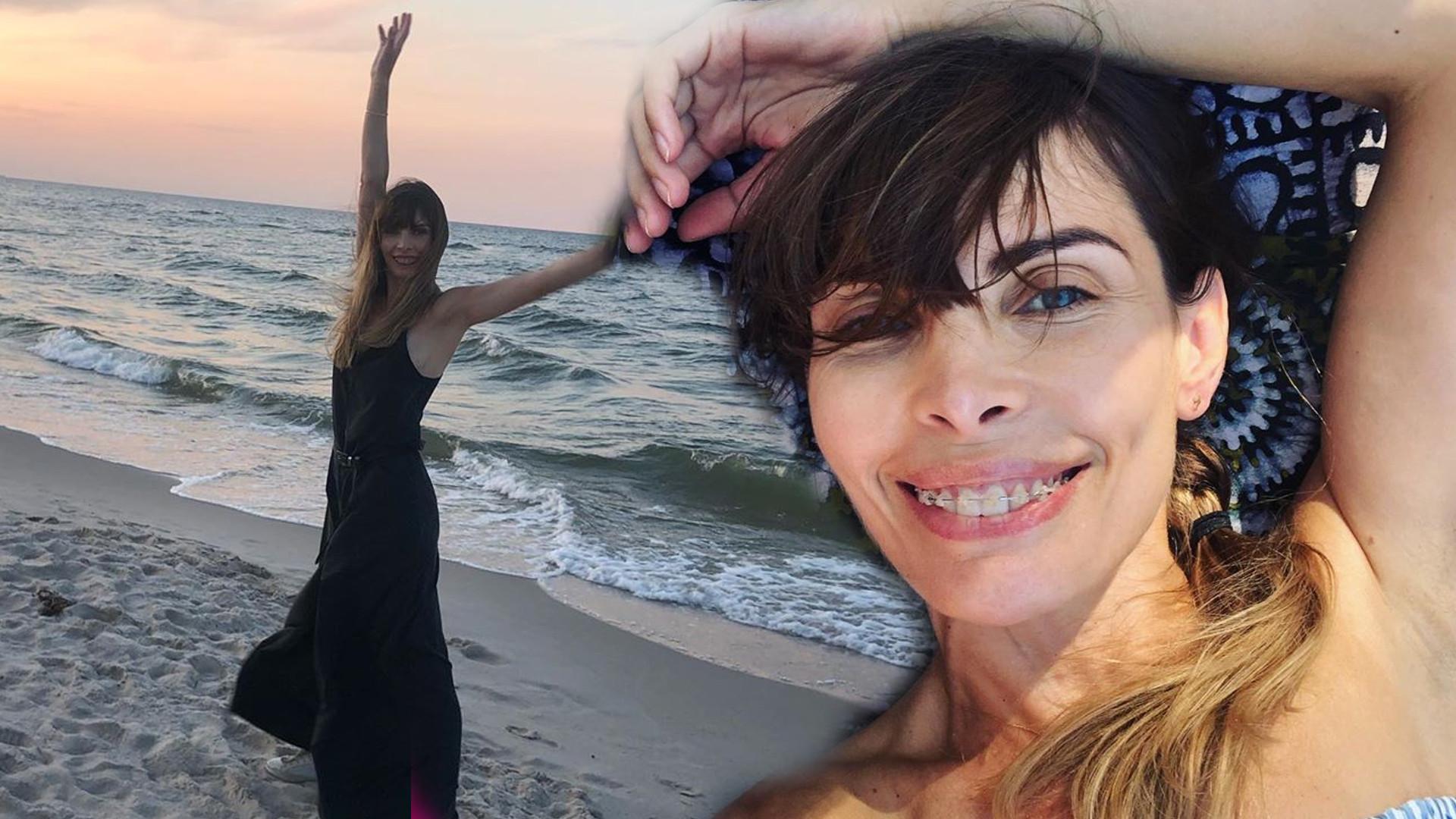 Agnieszka Dygant pokazuje ciało w bikini. Fani są w szoku metamorfozy aktorki! (INSTAGRAM)