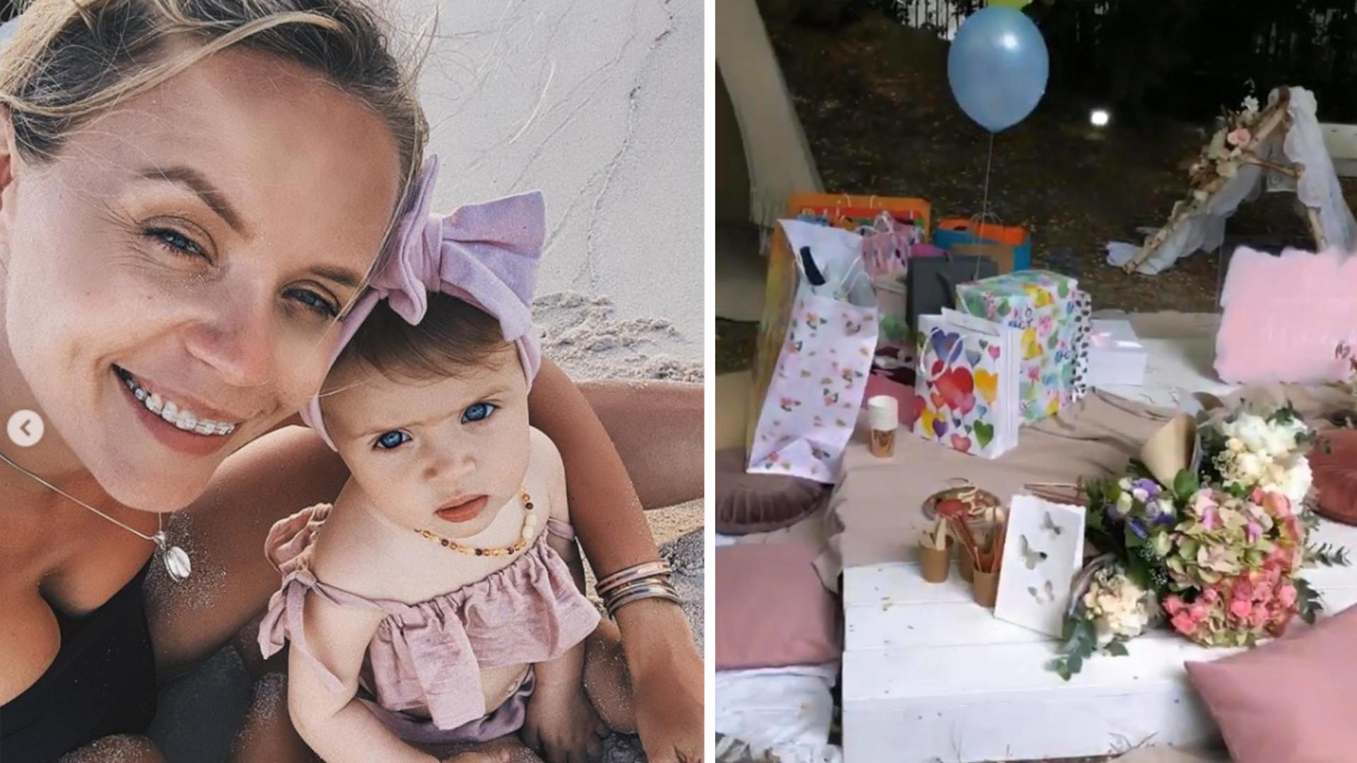 WOW! Anna Skura przygotowała Melody bajeczny roczek w OGRODZIE