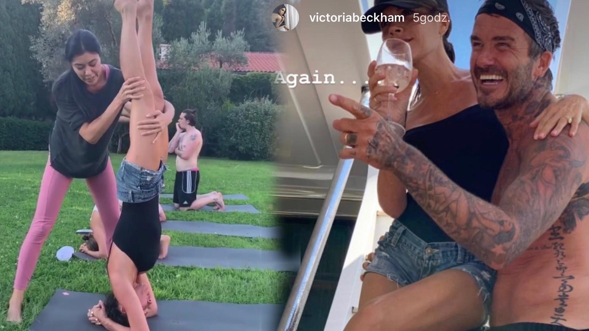 Beckhamowie na wakacjach – oni to potrafią się kochać i bawić. Tylko brać z nich przykład