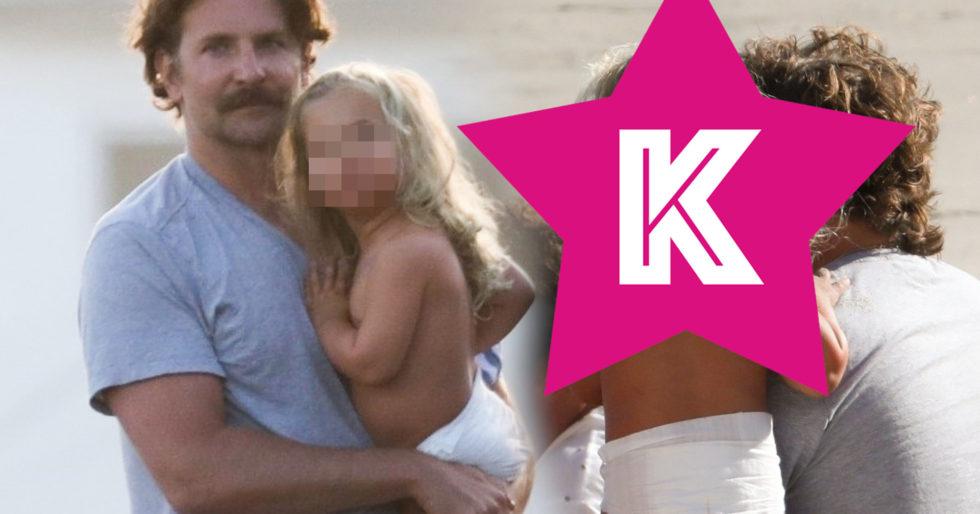 Bradley Cooper z córeczką Leą