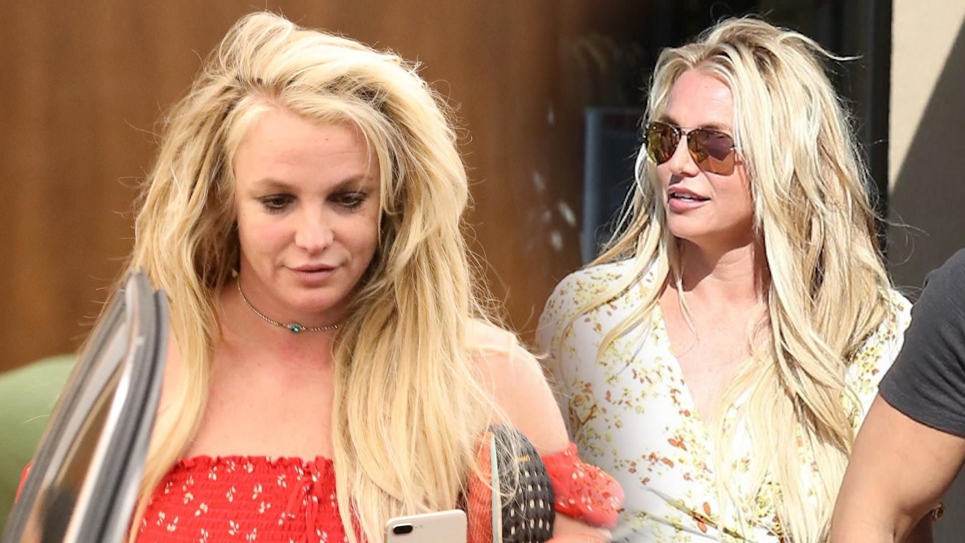 Britney Spears jest BRUNETKĄ!
