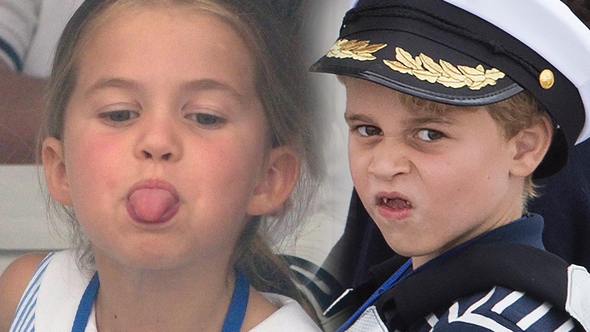 Charlotte i George stroją MINY na regatach – dzieciaki są już takie duże! (ZDJĘCIA)