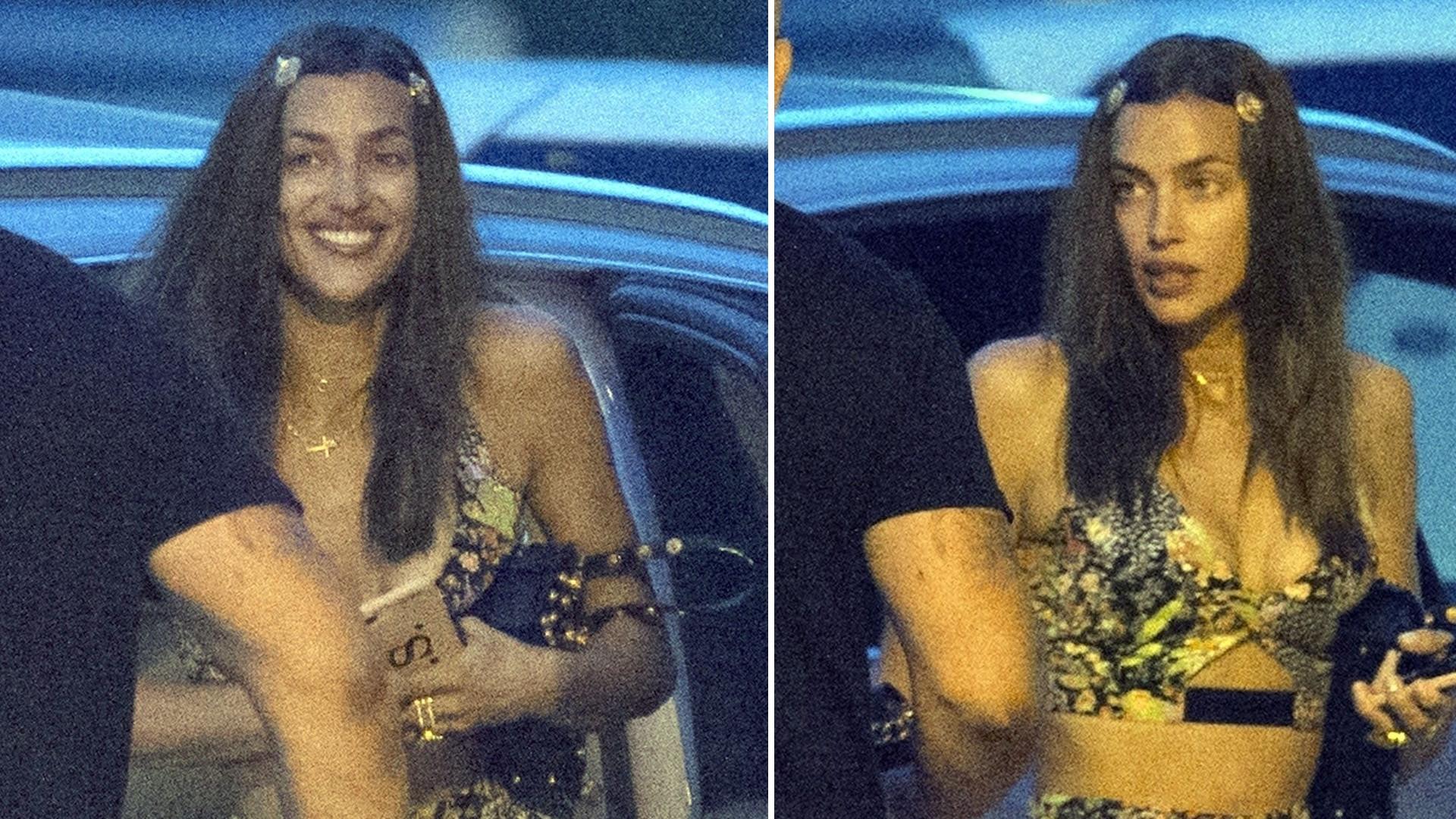 Irina Shayk idzie na imprezę – ma na sobie BOSKĄ stylizację (ZDJĘCIA)