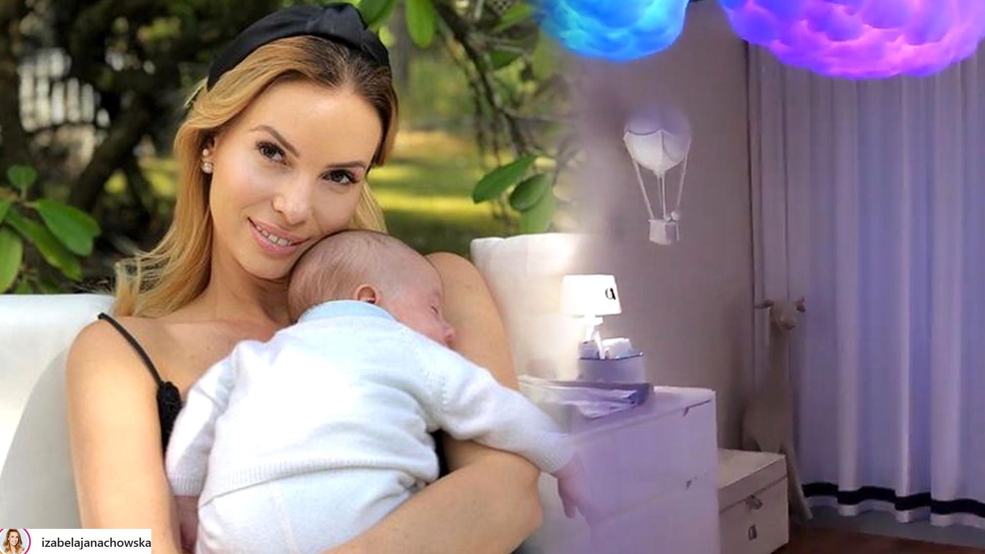 Izabela Janachowska pokazała pokoik dla synka – o tym dodatku marzy chyba każde dziecko