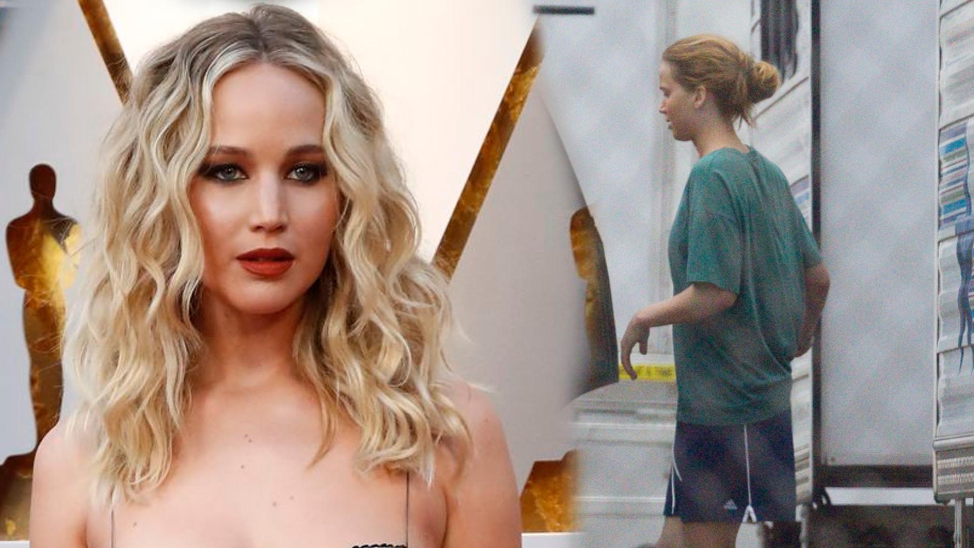 Jennifer Lawrence świętuje urodziny na planie filmowym najnowszego filmu!