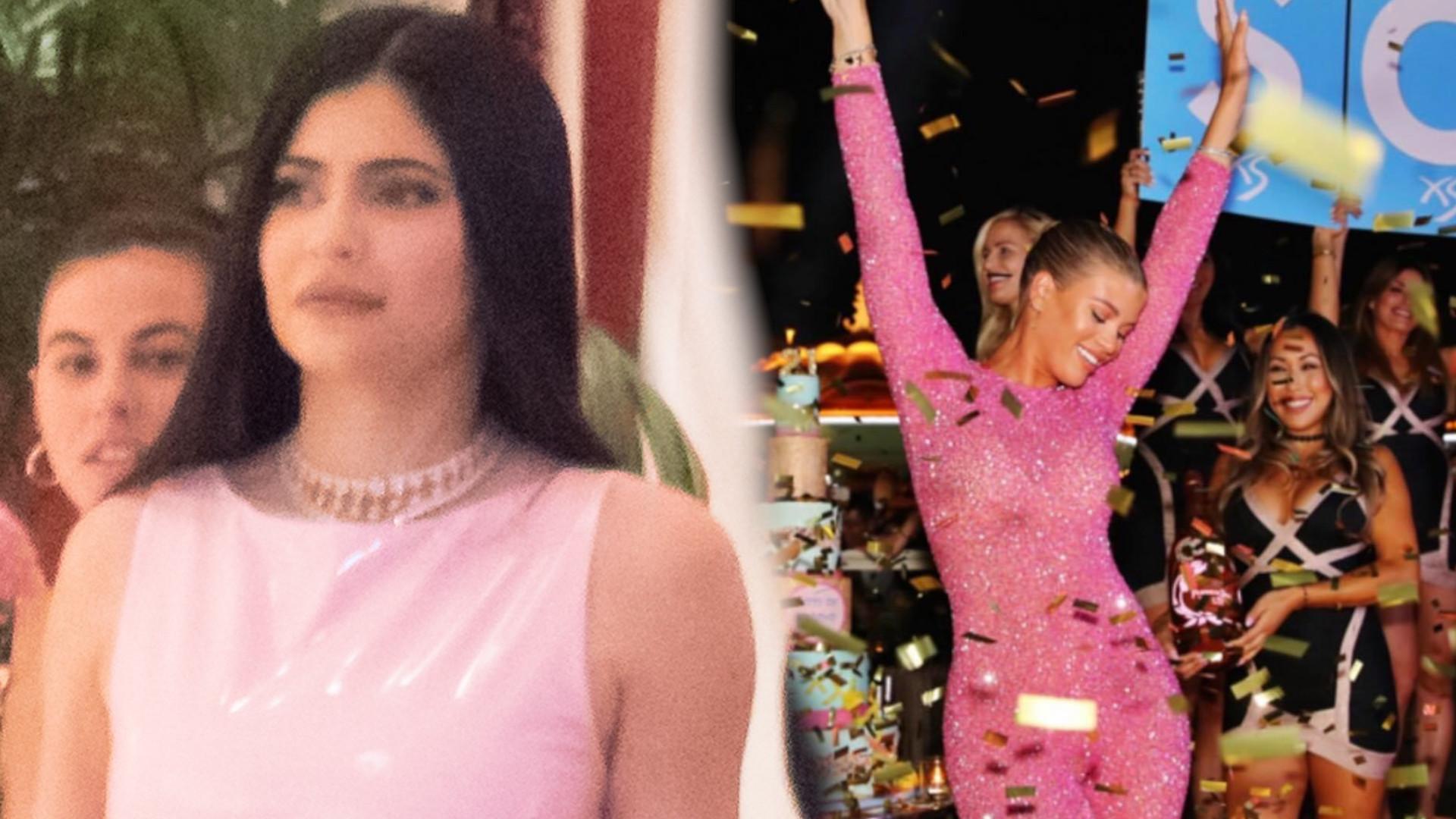 Kylie Jenner na urodzinach Sofii Richie w LAS VEGAS. Było grubo!
