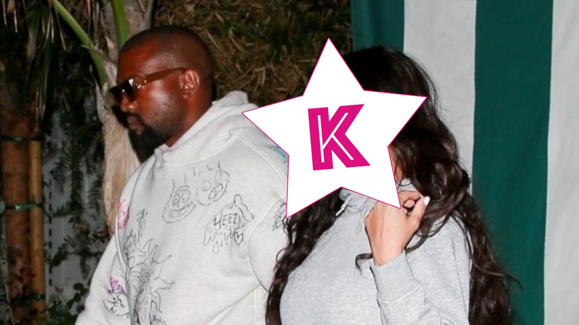 Takiej Kim Kardashian jeszcze nie widzieliście! Wybrała się na randkę z Kanye Westem (ZDJĘCIA)