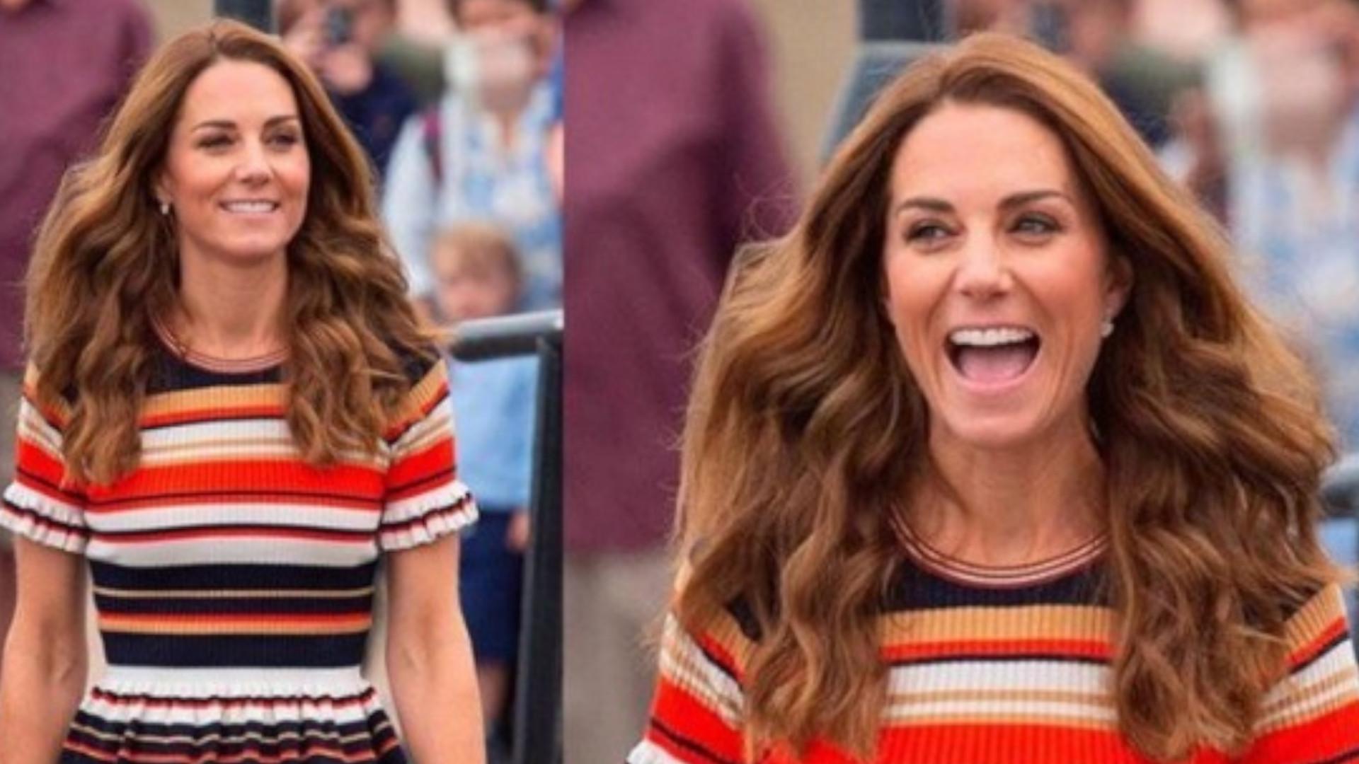 Kate Middleton w codziennej stylizacji. Znowu nas zaskoczyła stylizacją z sieciówki