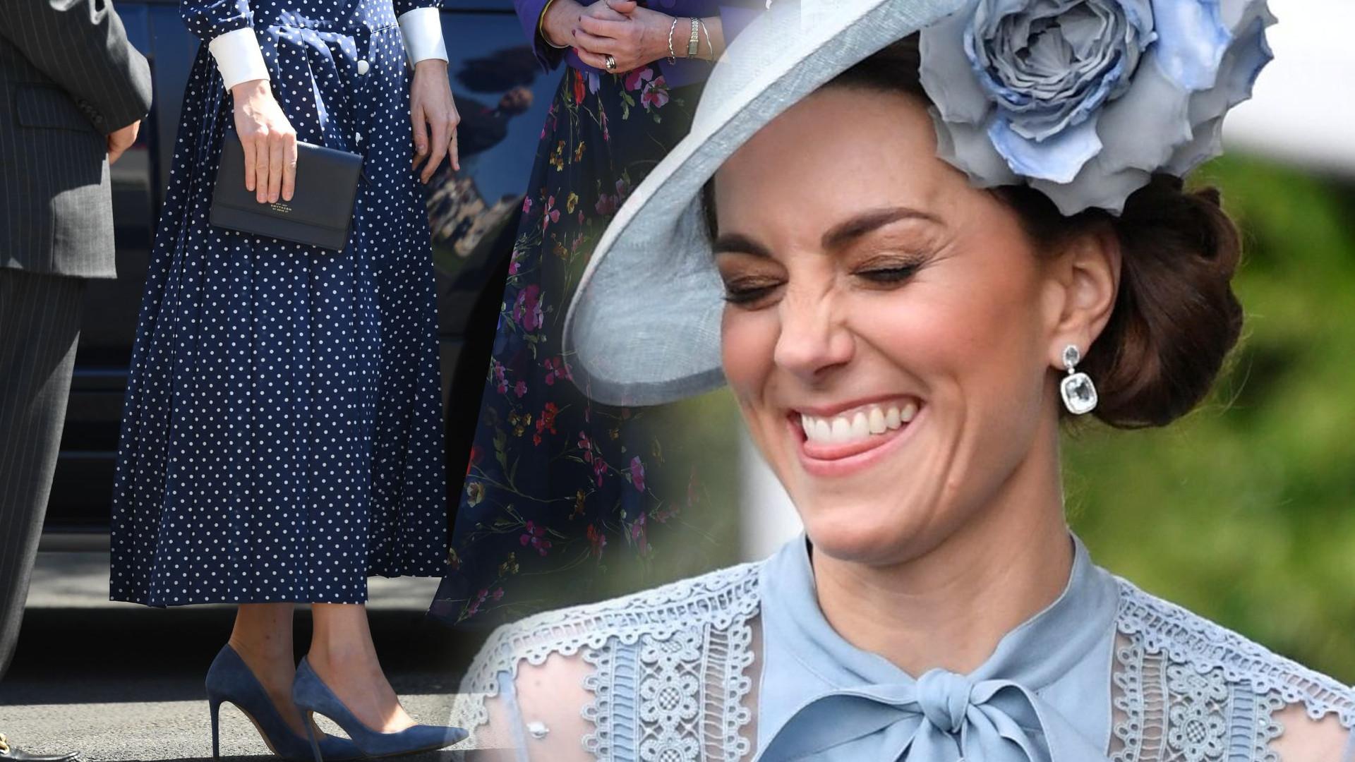 Kate Middleton ma banalny sposób na to, by stopy nie ślizgały się w butach na wysokich obcasach