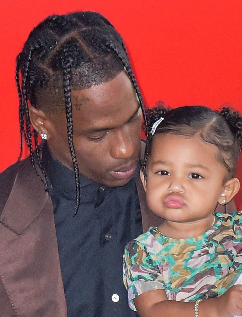 Travis Scott z córką Stormi