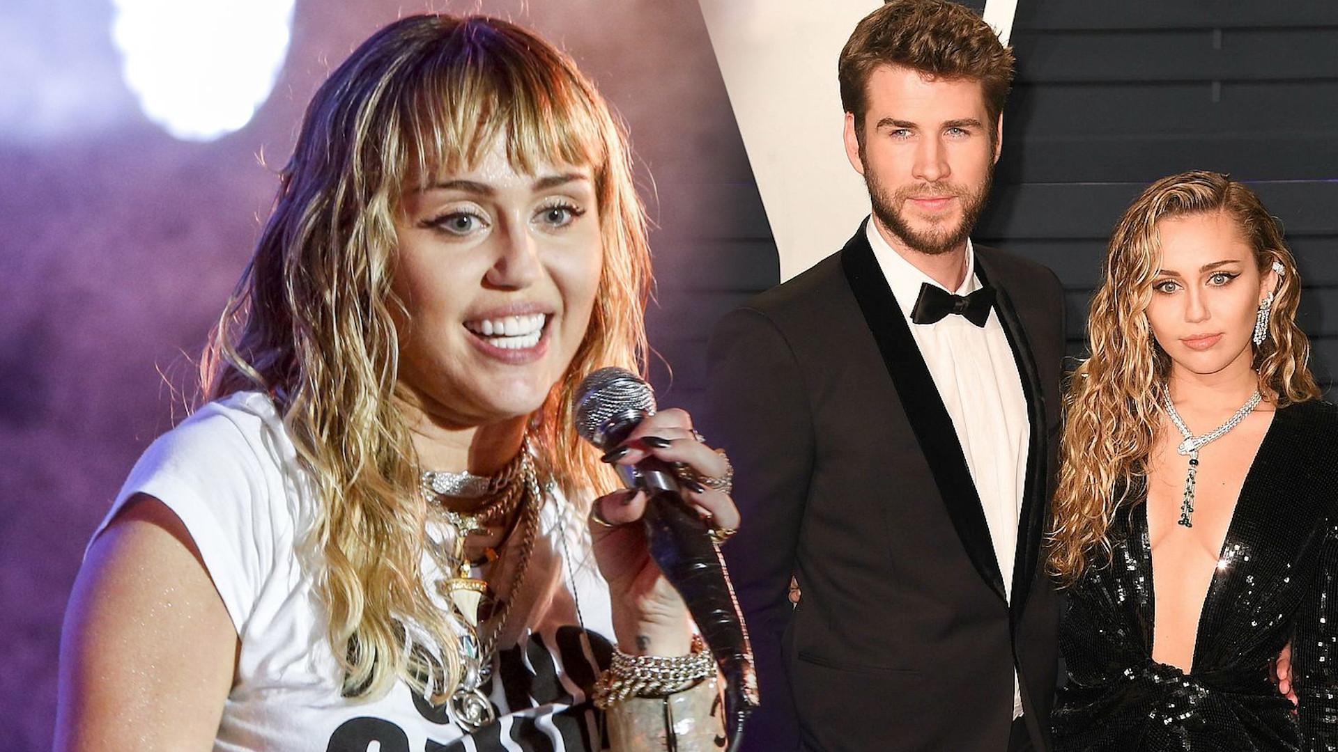 Miley Cyrus wydała MOCNE oświadczenie na temat rozwodu