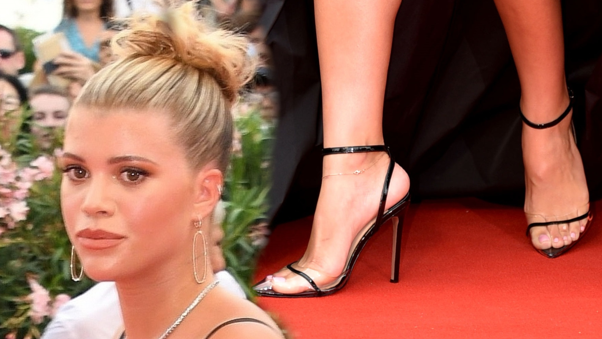 Sofia Richie po raz pierwszy na Festiwalu Filmowym w Wenecji – chyba jeszcze nieobyta z czerwonym dywanem…