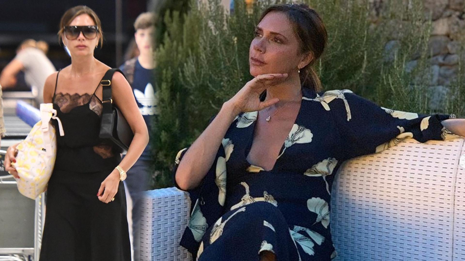 SZOK! Victoria Beckham pokazała swoją młodszą siostrę Louise Adams