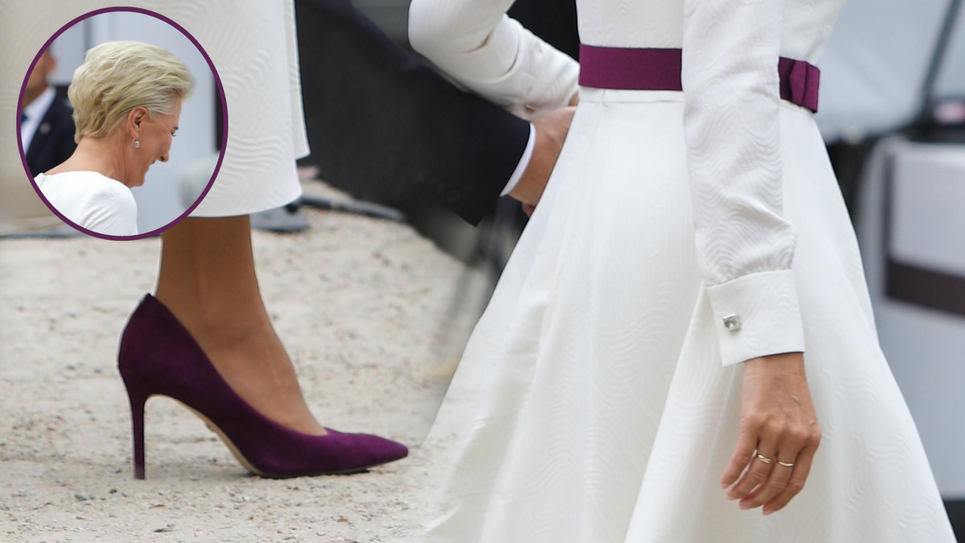 Melania Trump mogłaby się UCZYĆ stylu od Agaty Dudy (ZDJĘCIA)