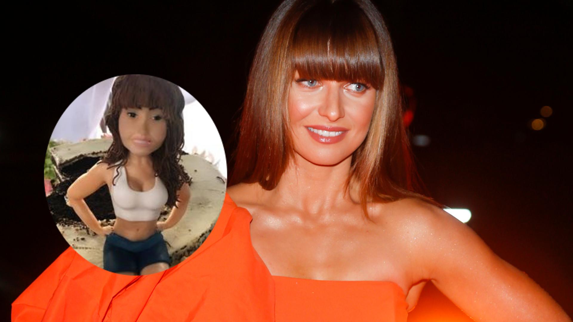 Anna Lewandowska dostała tort urodzinowy z figurką… Anny Lewandowskiej (ZDJĘCIA)
