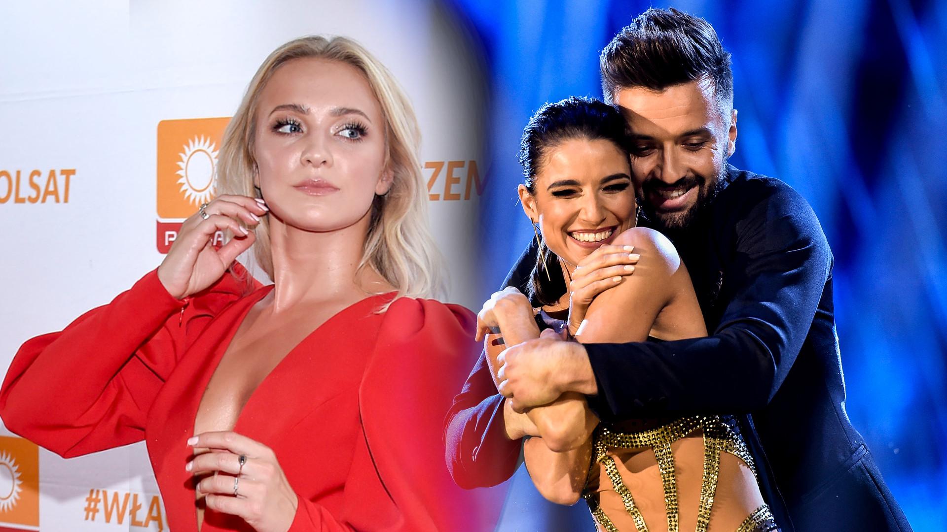 Basia Kurdej Szatan zdradziła, czy jest ZAZDROSNA o Rafała tańczącego z Lenką Kliment