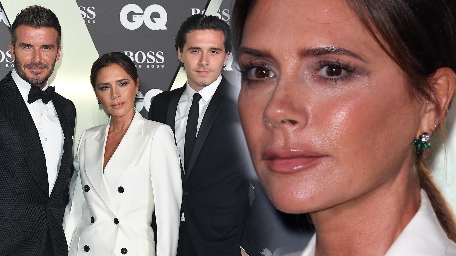 Victoria i David Beckhamowie zabrali najstarszego syna, Brooklyna, na galę GQ (ZDJĘCIA)