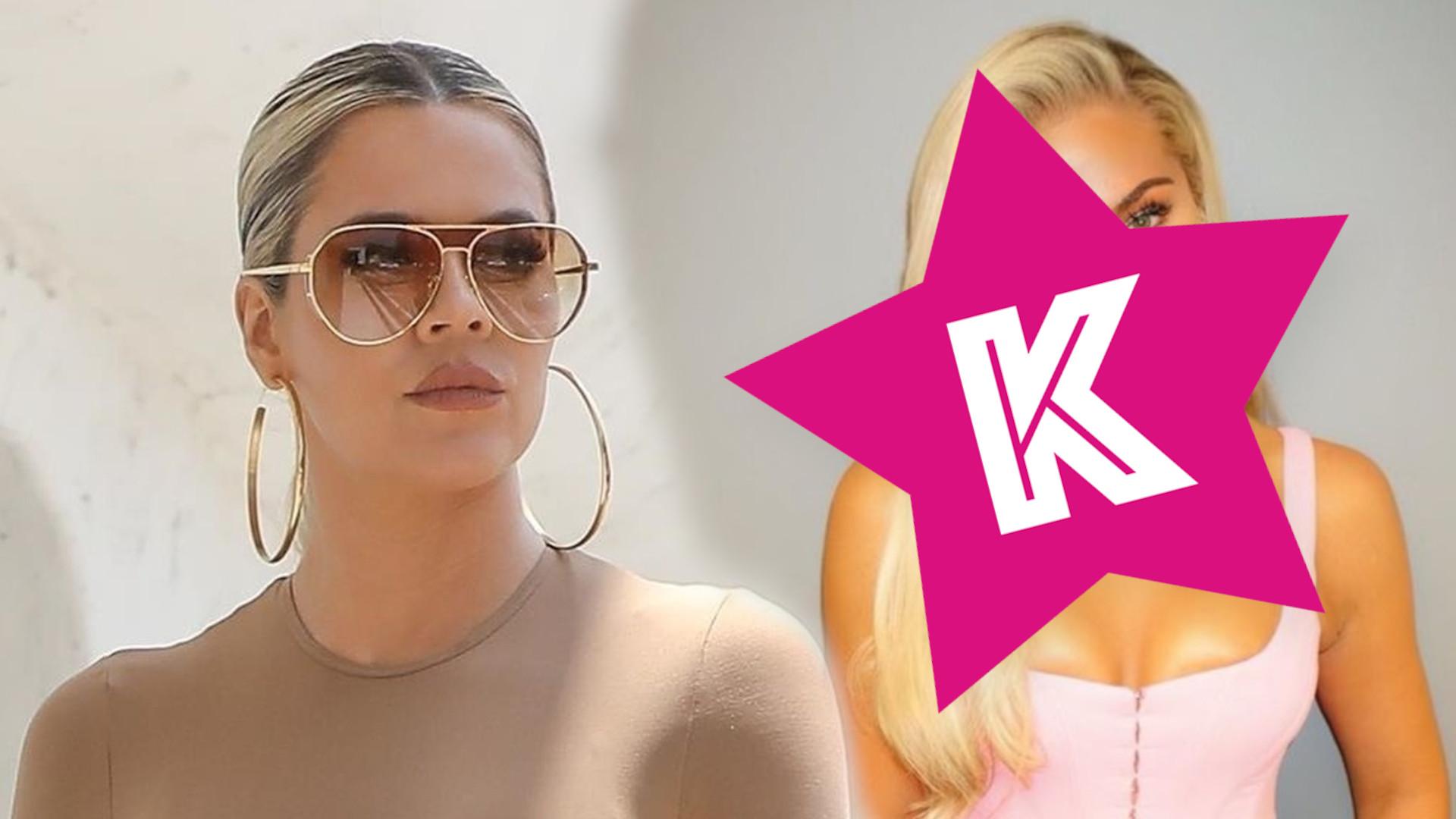 Khloe Kardashian wygląda jak lalka BARBIE. Co się z nią dzieje?