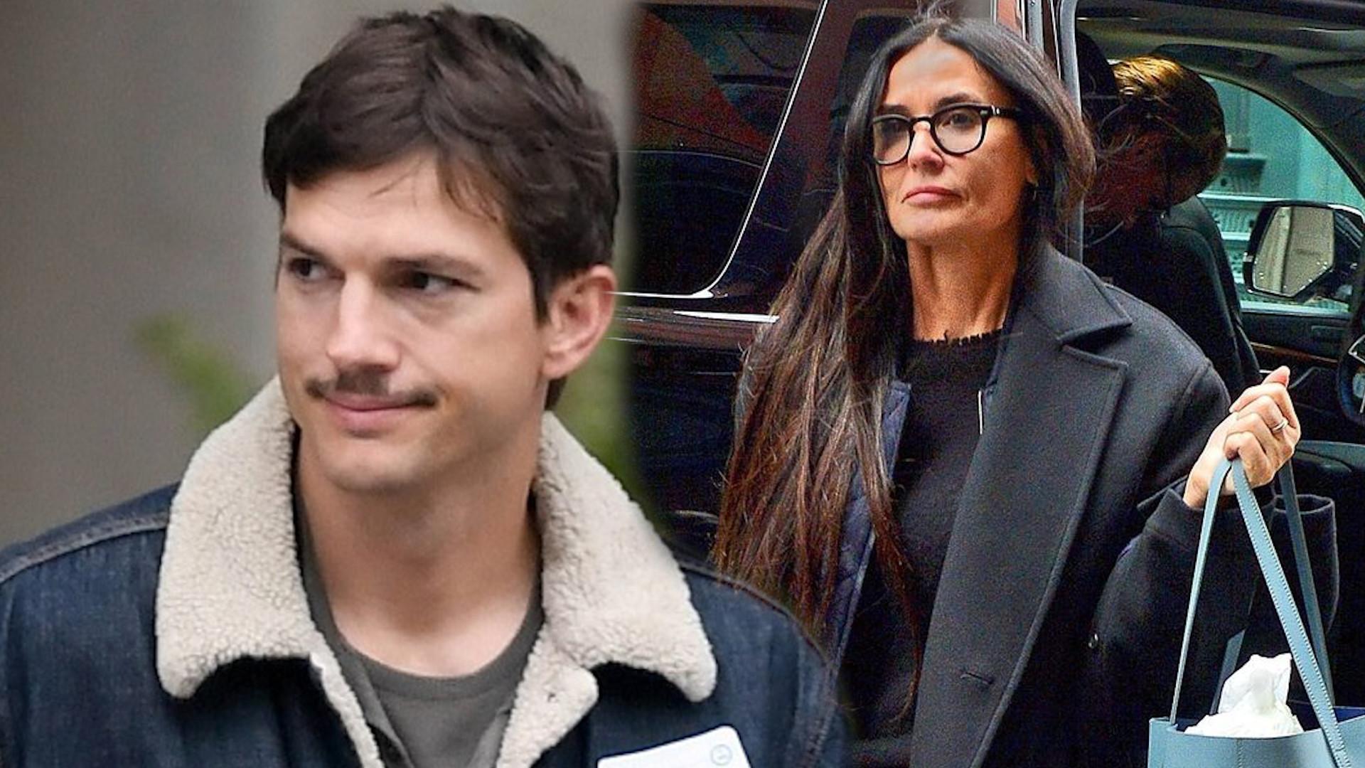 Ashton Kutcher w końcu ODPOWIEDZIAŁ Demi Moore, która go oskarżyła o ZDRADĘ i nie tylko…