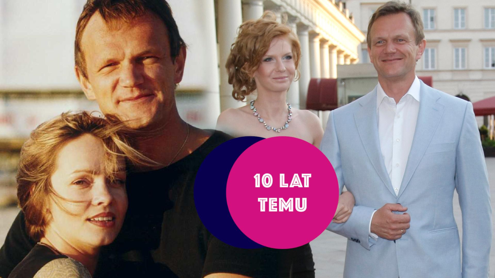 Co działo się w show-biznesie 10 lat temu: Perypetie miłosne CEZAREGO PAZURY (od żony alkoholiczki do żony o 26 lat młodszej)