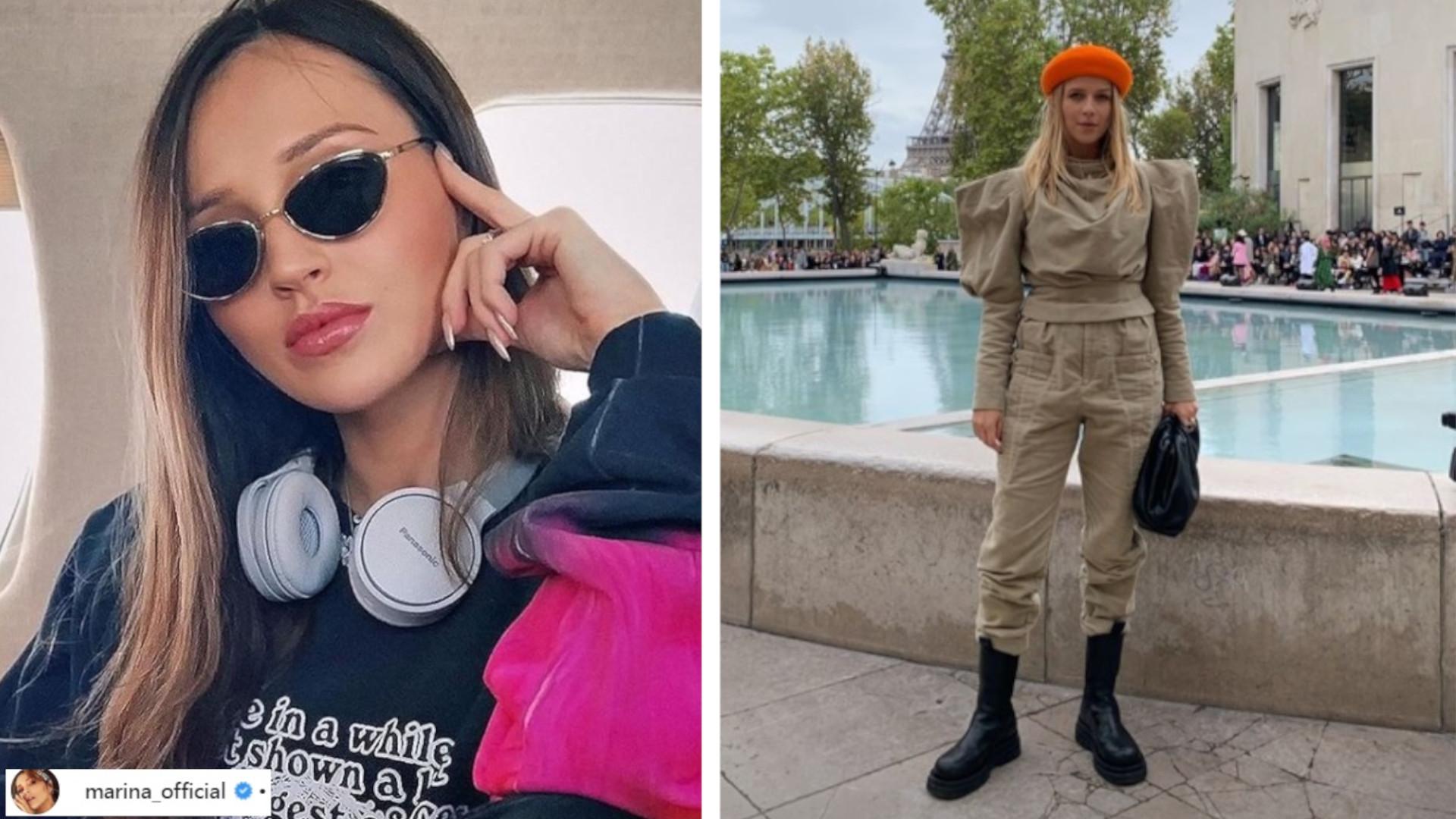 Polska Reprezentacja na Paris Fashion Week. Marina Łuczenko, Natalia Siwiec i Jessica Mercedes