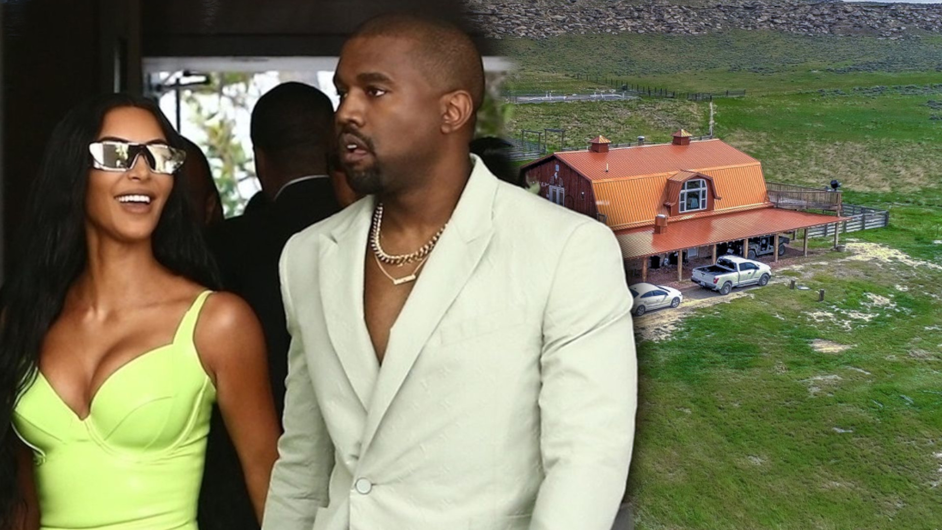 Kim Kardashian i Kanye West wyprowadzili się z Kalifornii. Kupili ogromne ranczo (ZDJECIA)