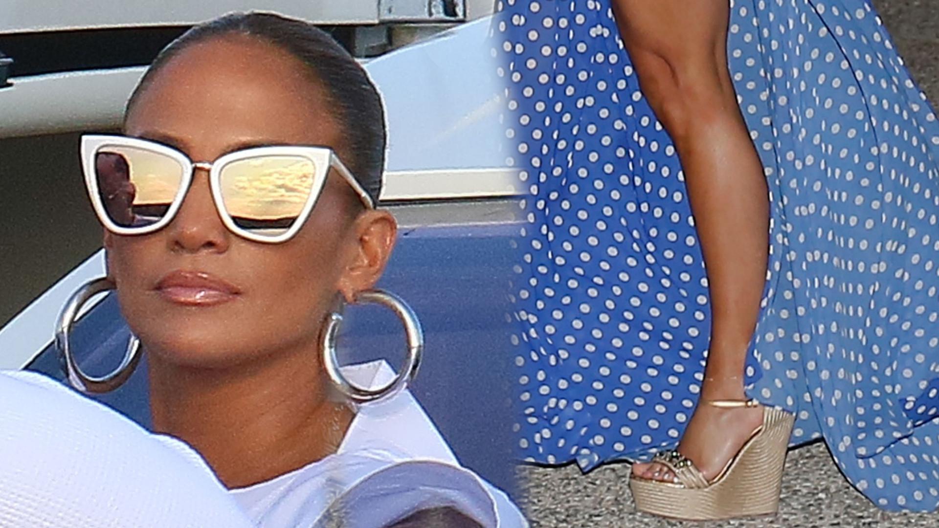 Jennifer Lopez na wakacjach pokazała za dużo. Ale za takie ciało się wybacza