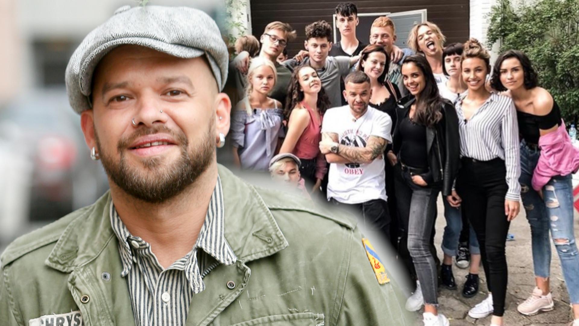Michał Piróg przez przypadek pokazał uczestników Top Model po METAMORFOZACH