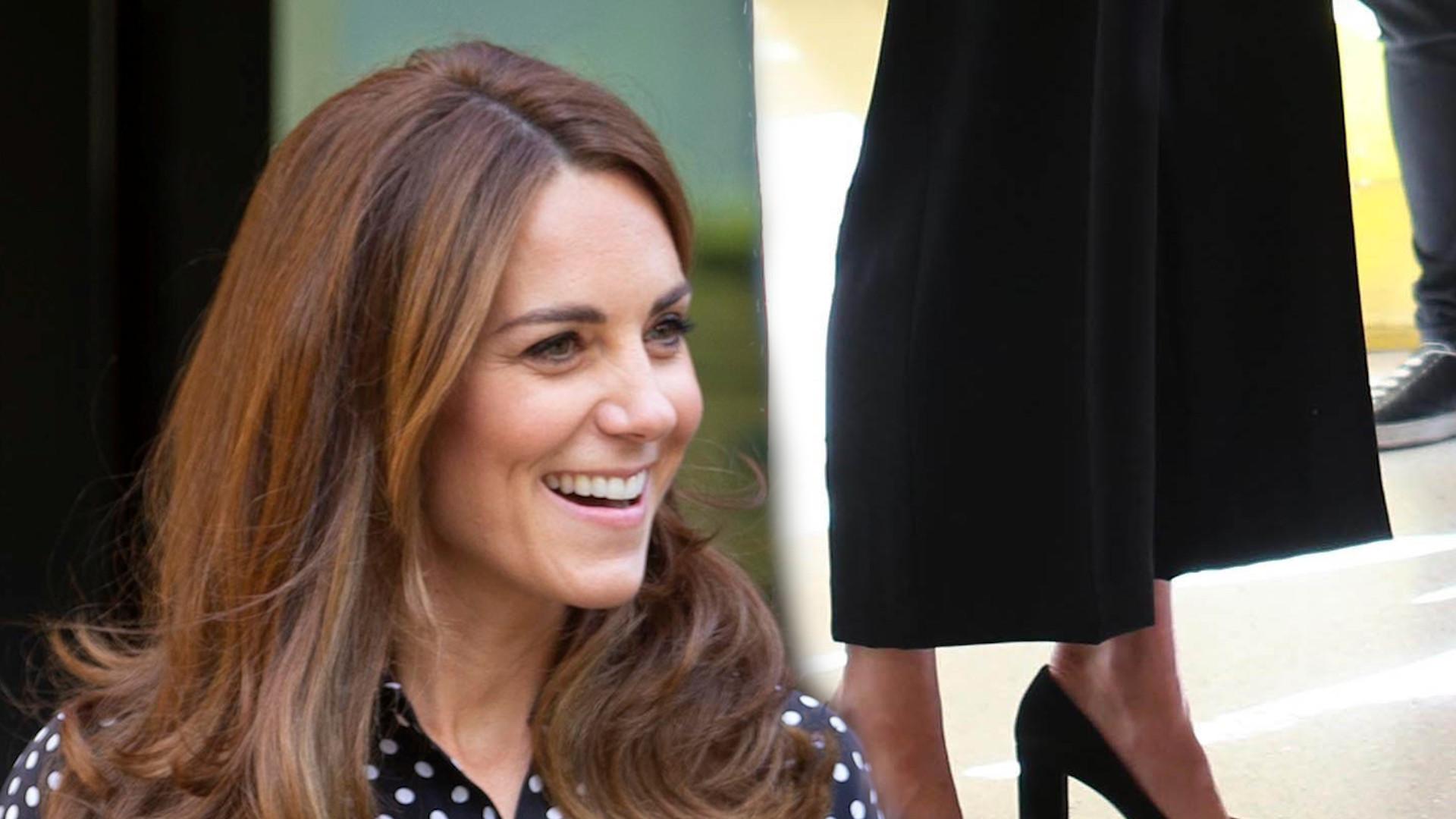 Kate Middleton w szpitalu. Udowodniła, że nie jest w ciąży