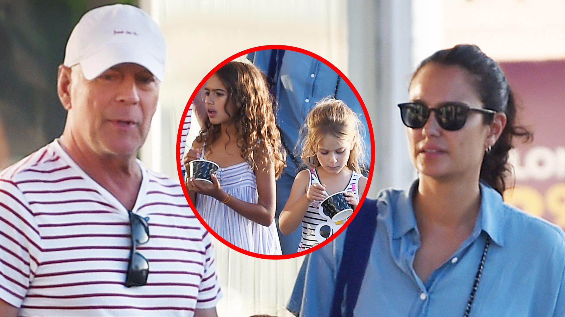64-letni Bruce Willis z PIĘKNĄ żoną i cudnymi córeczkami (ZDJĘCIA)