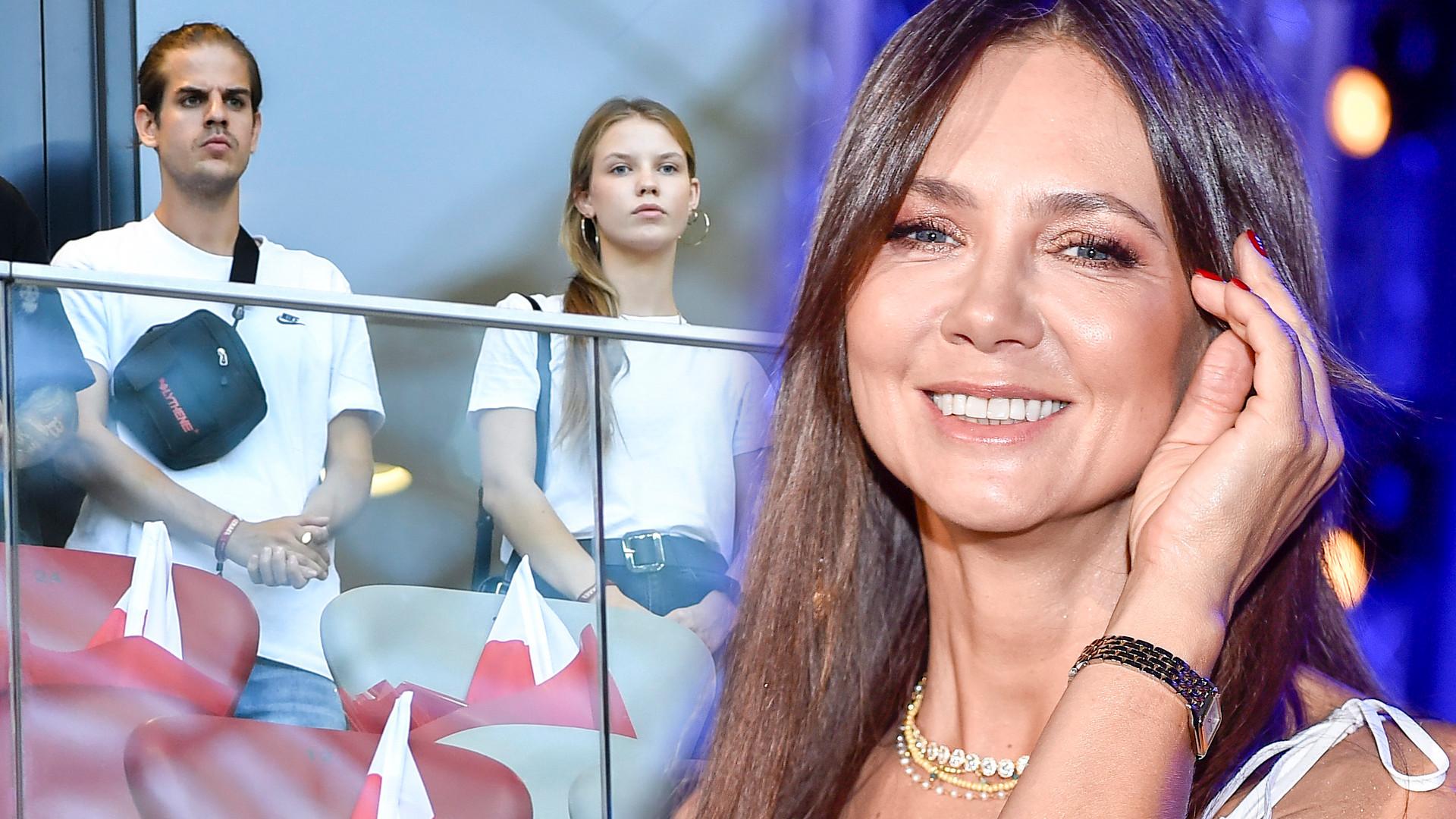 48-letnia Kinga Rusin SZALEJE na koncercie Taco: śpiewa na żywo piosenki być może przyszłego zięcia
