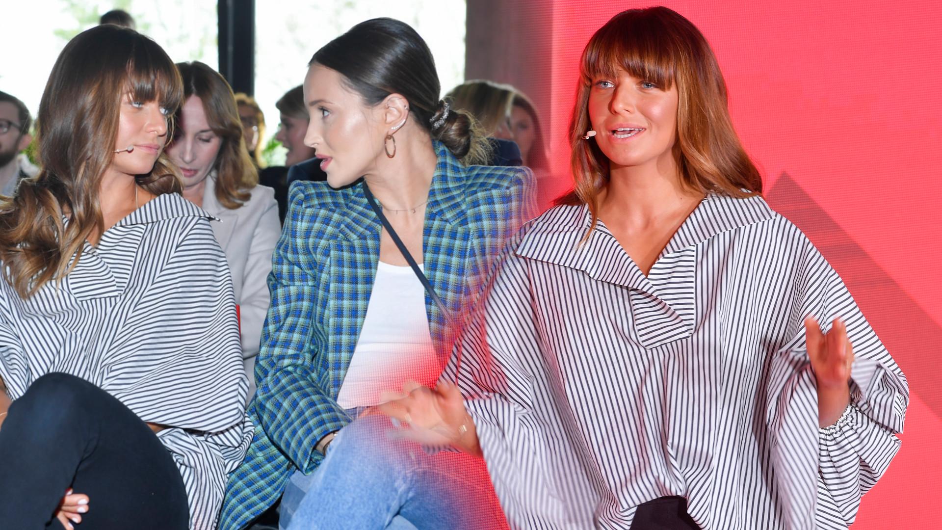 Lewandowska i Marina siedzą obok siebie na ramówce (ZDJĘCIA)