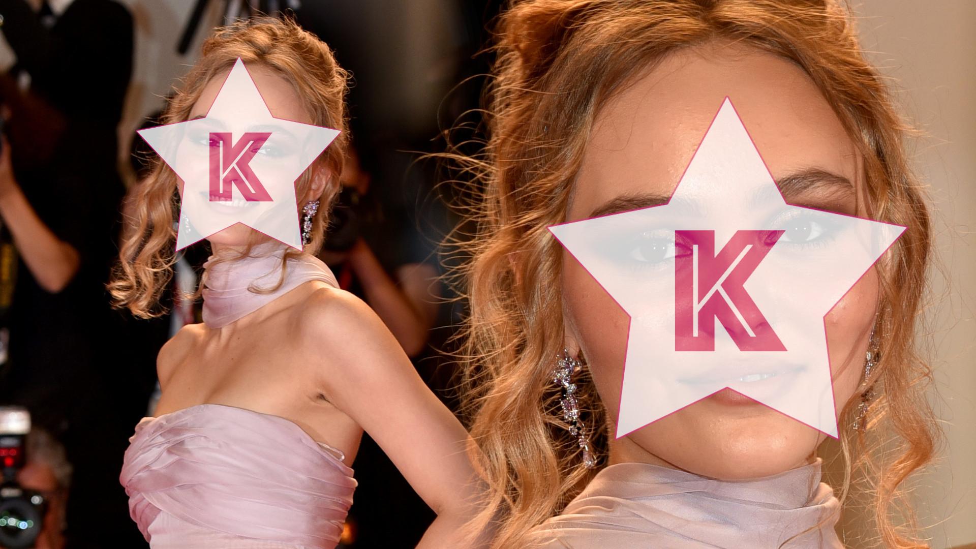 Lily Rose Depp PRZESADZIŁA z makijażem na czerwonym dywanie w Wenecji (ZDJĘCIA)