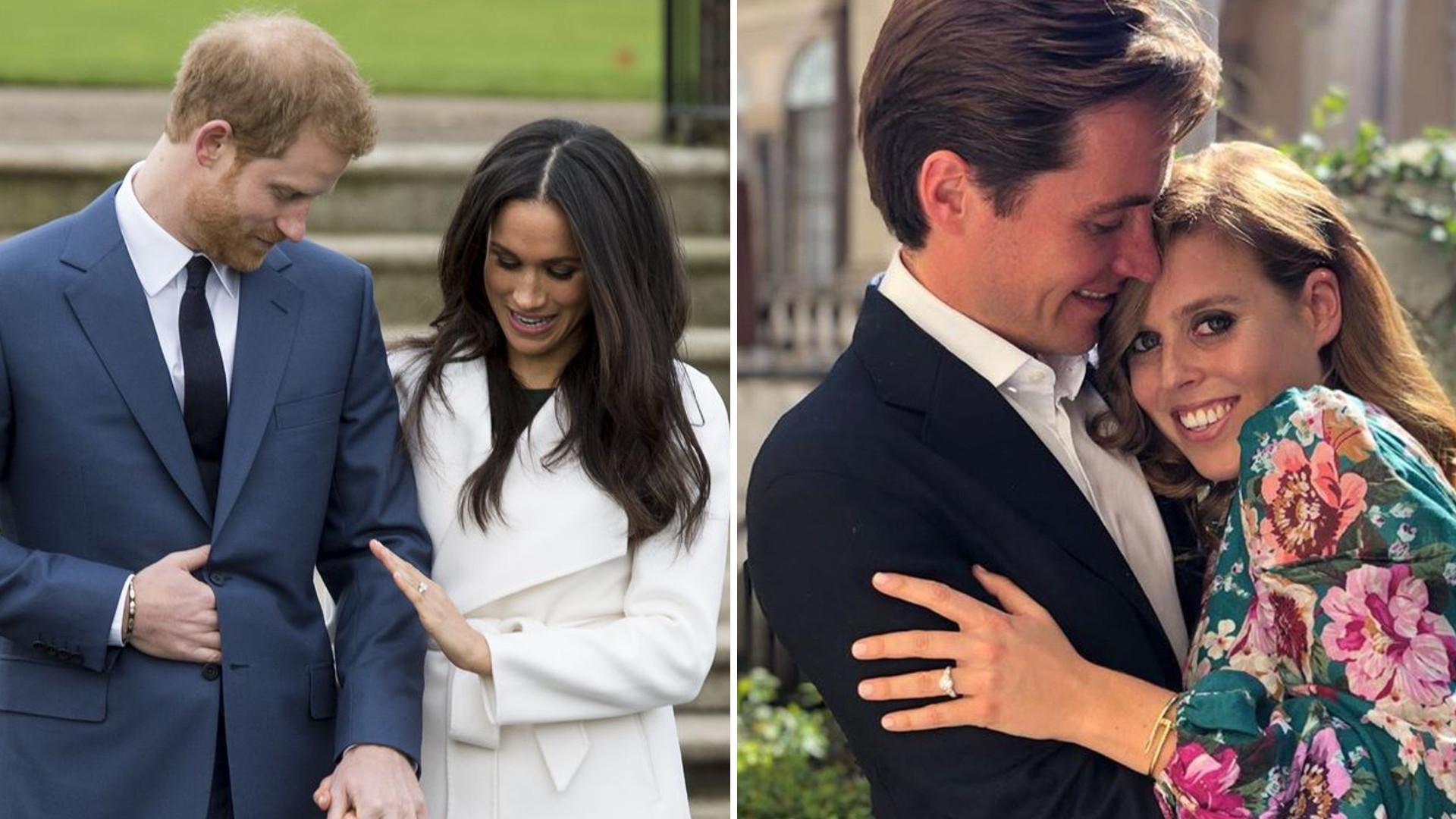 Pierścionek zaręczynowy księżniczki Beatrice jest dwa razy droższy niż ten, który dostała Meghan od Harry'ego