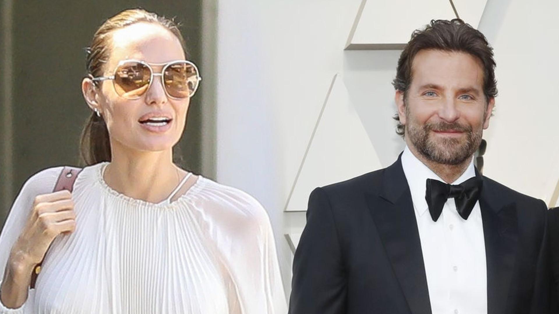 Angelina Jolie i Bradley Cooper potajemnie się spotykają! Co o tym myśli Brad Pitt?