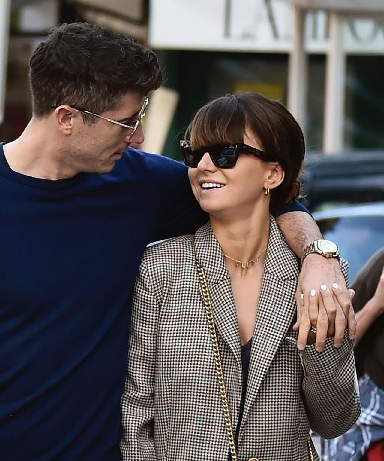 Zakochana Anna Lewandowska z Robertem na randce w Portofino (ZDJĘCIA)