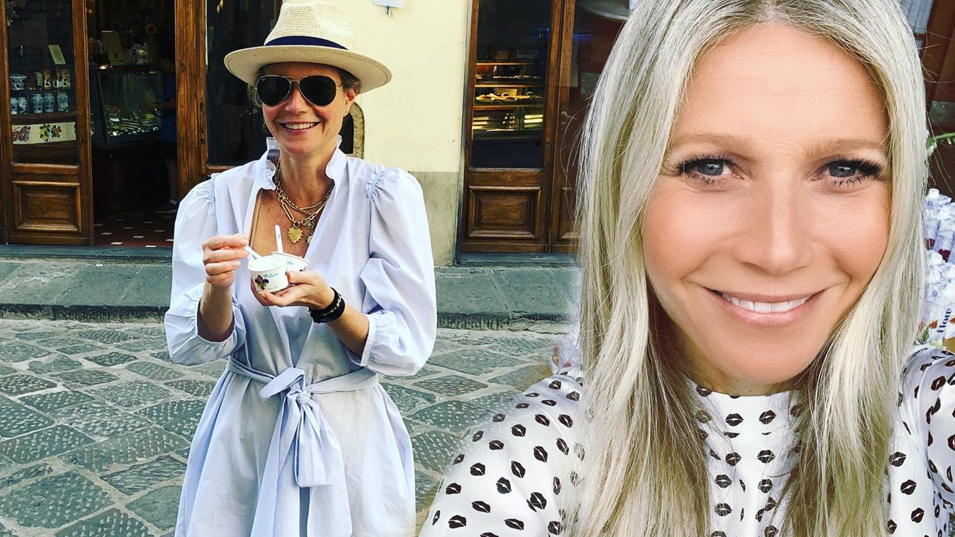 WOW! Gwyneth Paltrow na tle przyrody pozuje NAGO i promuje naturalność