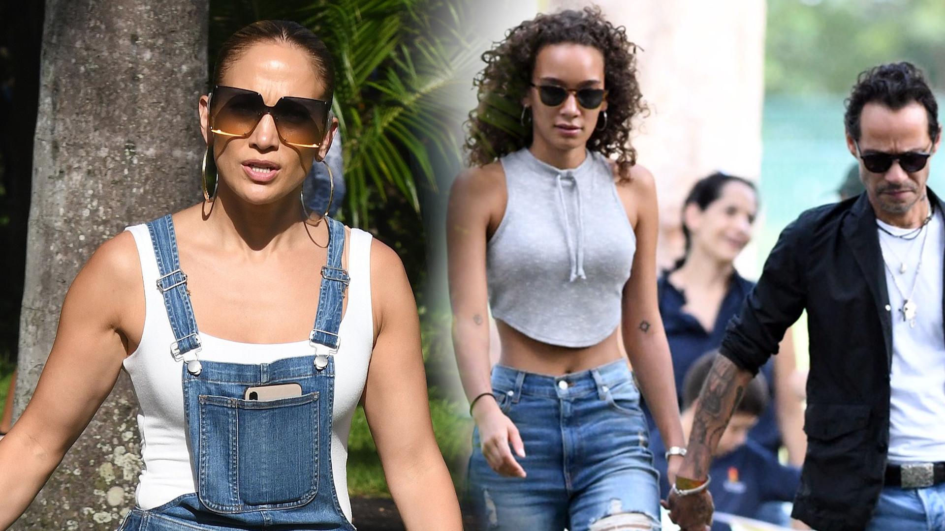 Jennifer Lopez spotkała się z byłym mężem i jego dziewczyną (ZDJĘCIA)