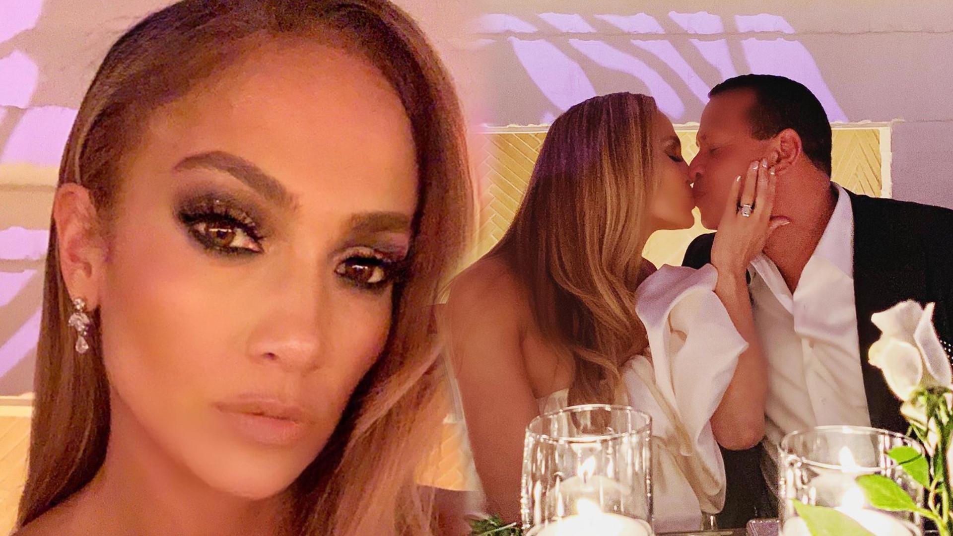 Jennifer Lopez zorganizowała eleganckie przyjęcie zaręczynowe. Gwiazda ZDRADZIŁA datę ślubu!