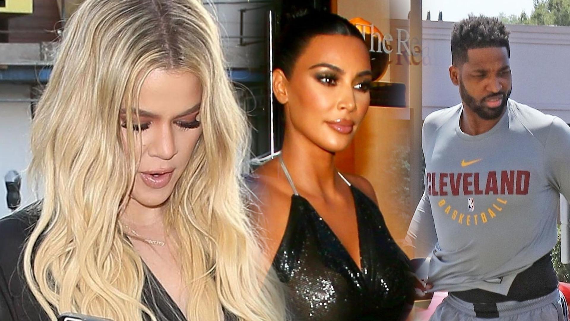 Reakcja Khloe Kardashian na to, że Kim Kardashian spędziła wieczór z Tristanem Thompsonem