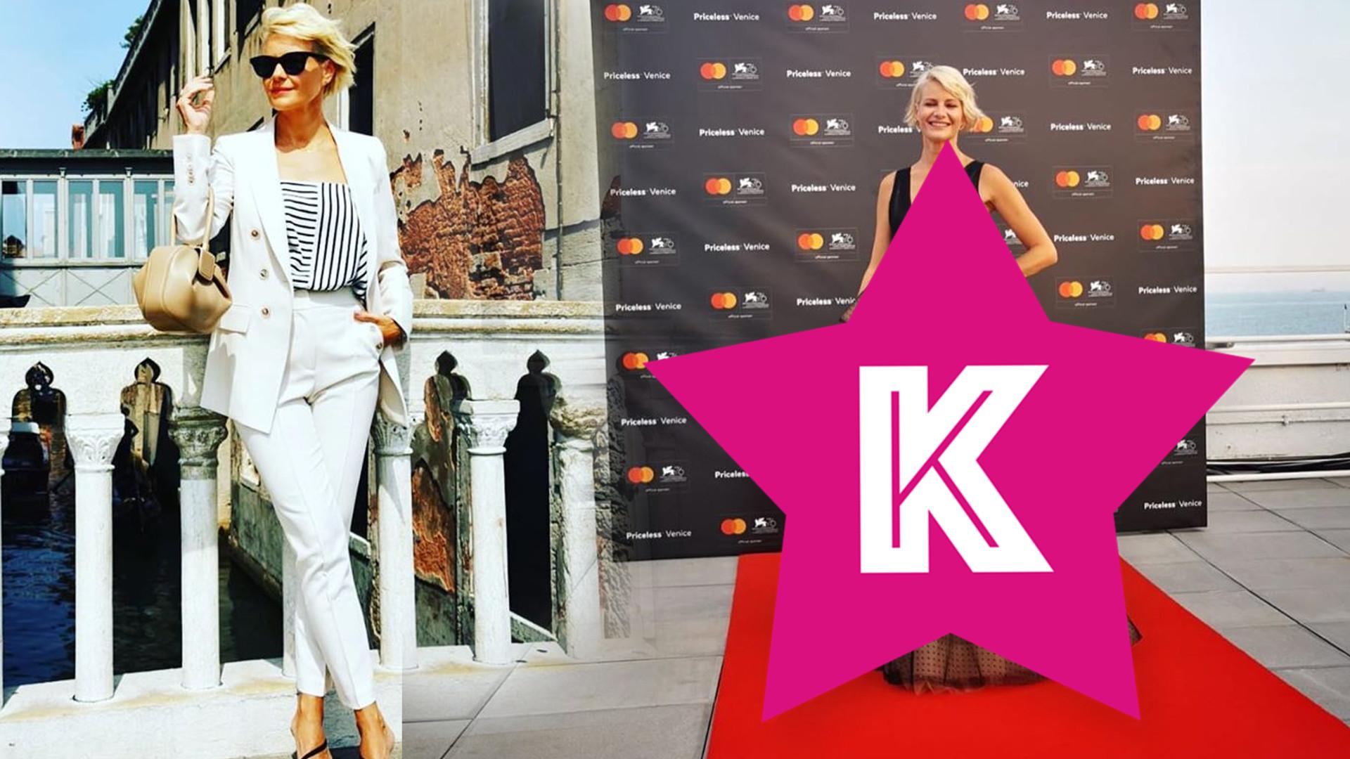 Małgorzata Kożuchowska zadała szyku na Festiwalu Filmowym w Wenecji. Jej stylizacja zachwyca