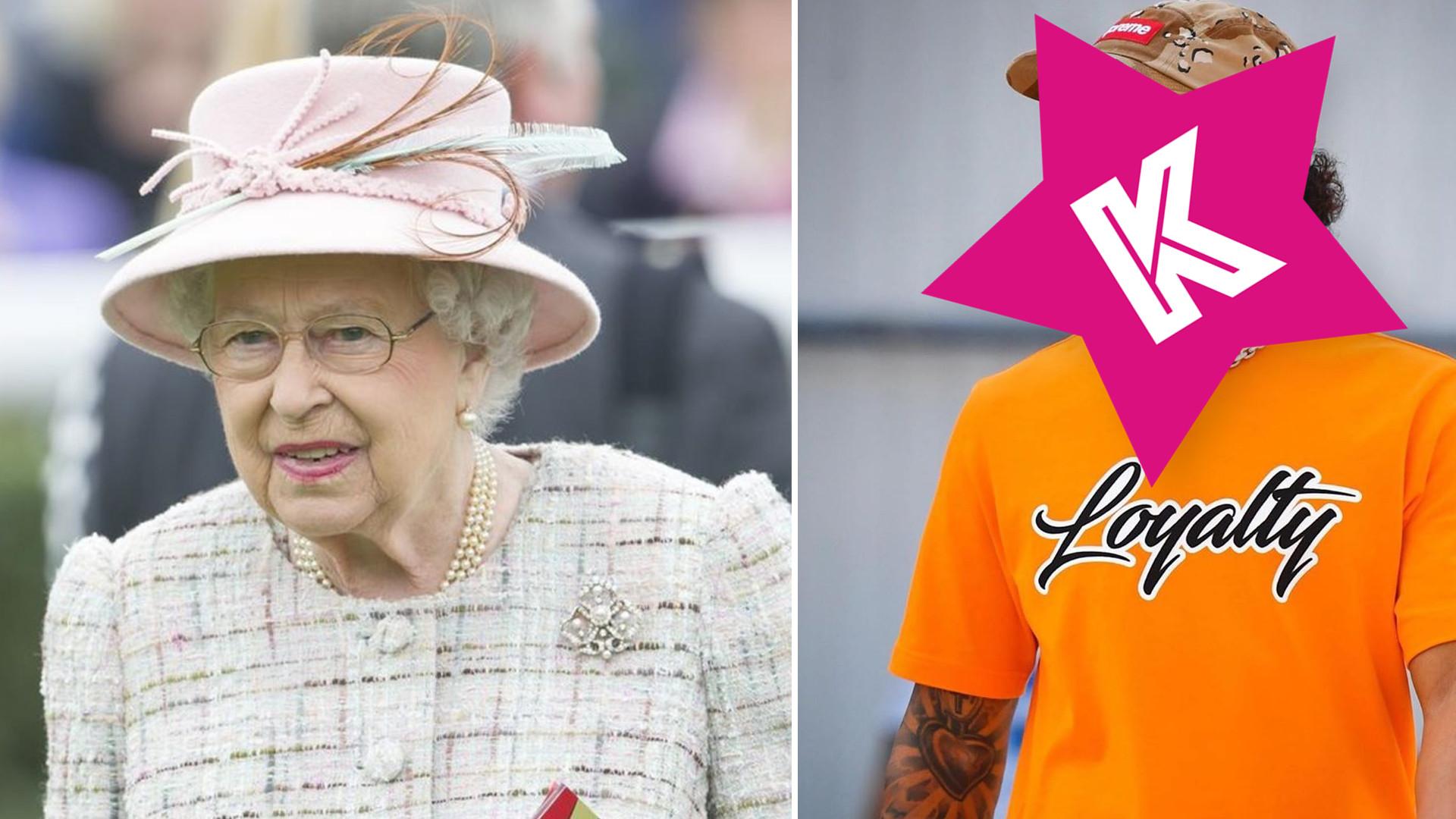 Królowa Elżbieta ustawia do pionu gwiazdę, która kompletnie NIE UMIAŁA zachować się przy stole!