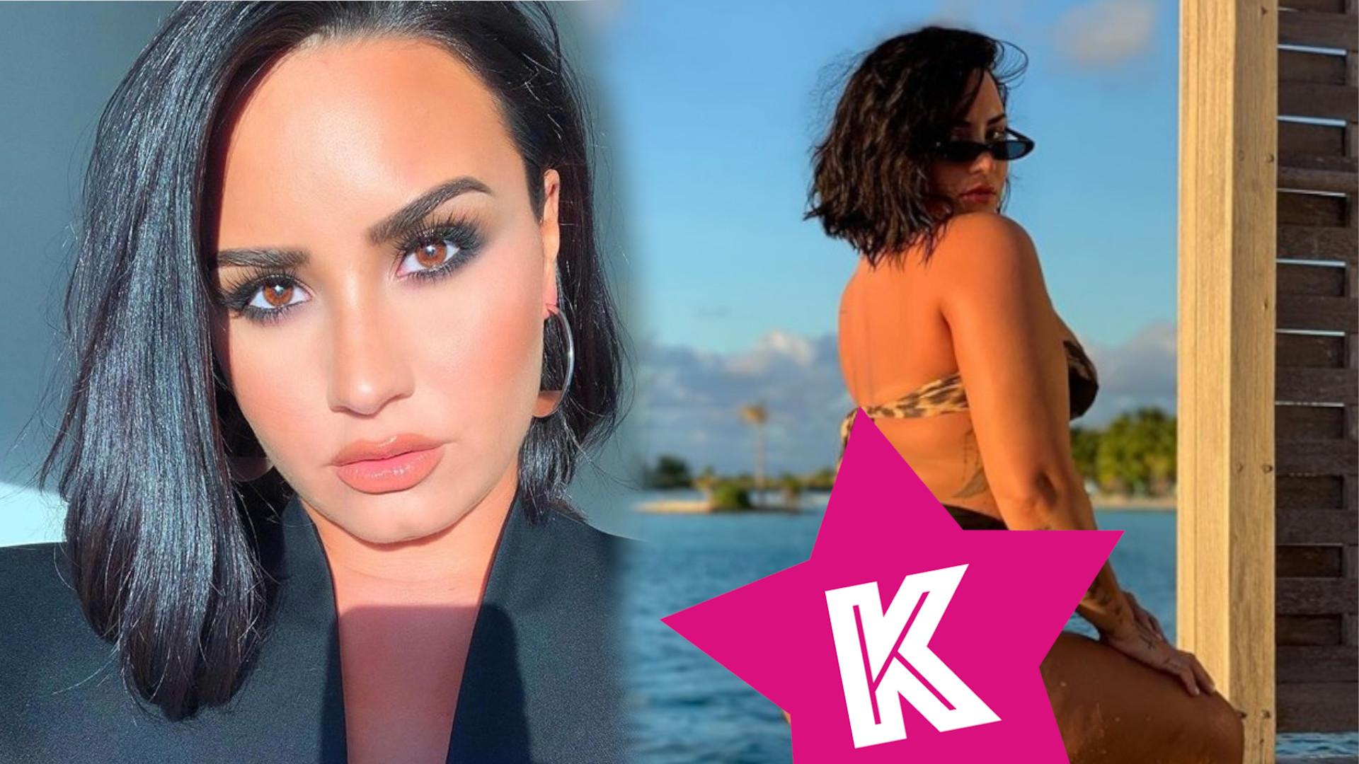 OMG! Demi Lovato pokazała jak naprawdę wygląda jej ciało