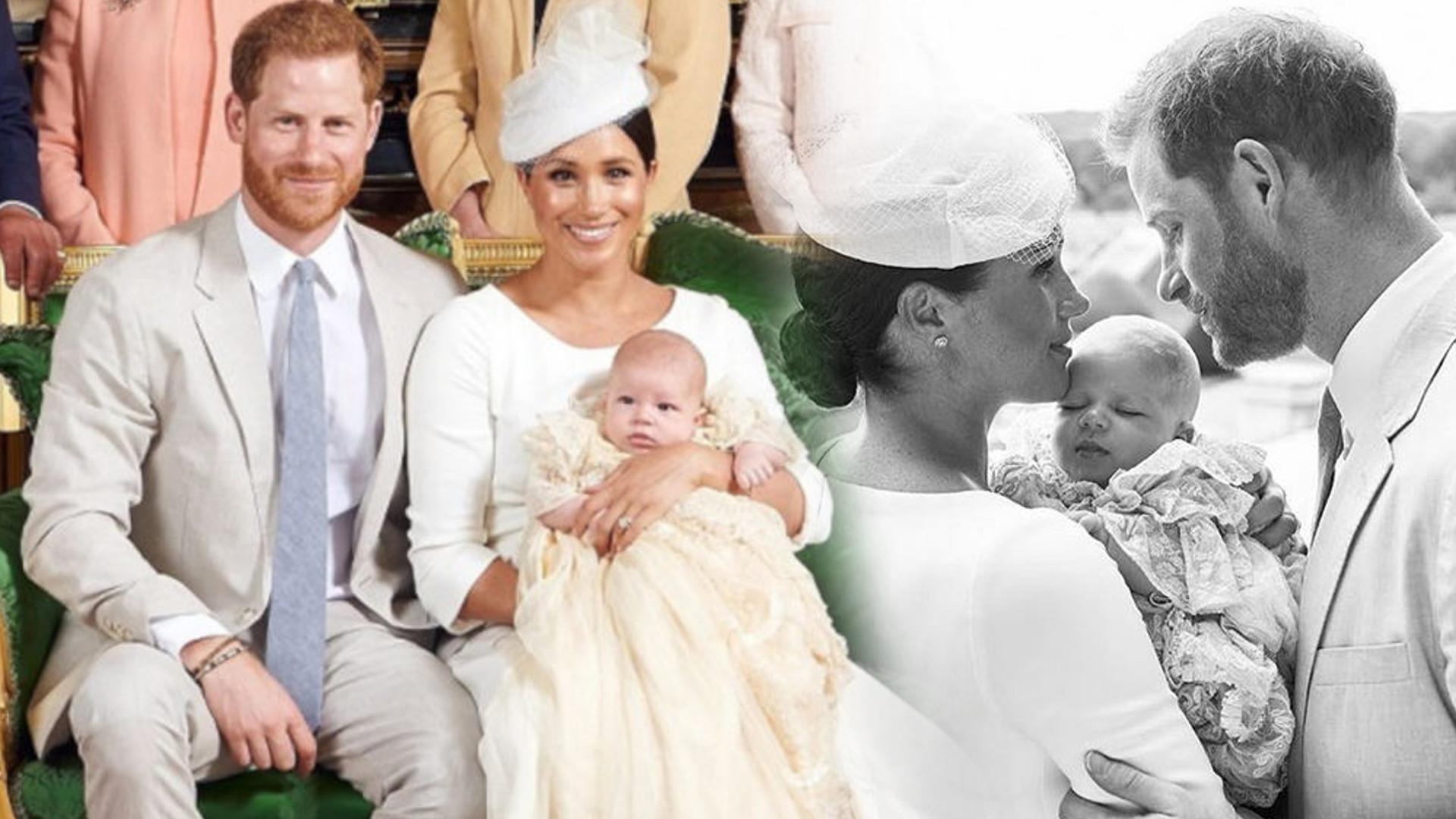 Wyszło na jaw, kto jest matką chrzestną Archiego!