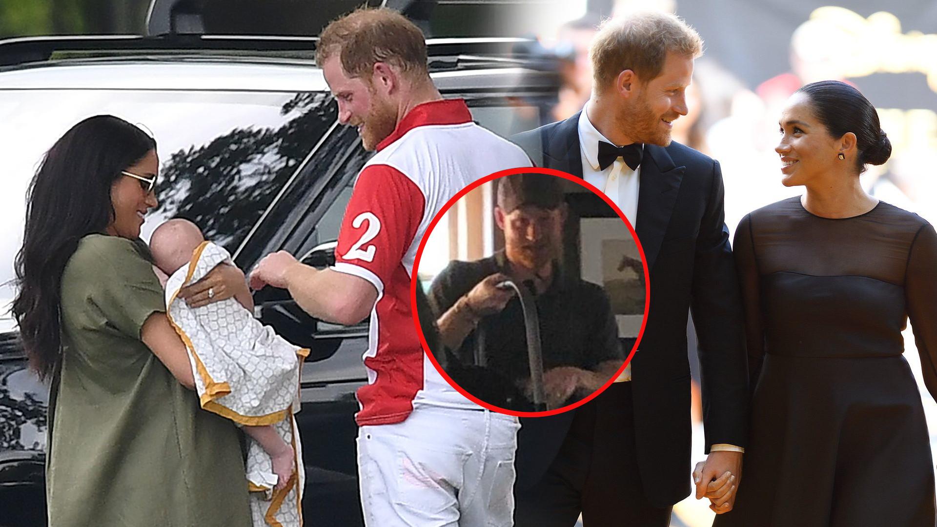 Meghan i Harry z Archiem sfotografowani w PUBIE – księżna w szortach, a książę zamówił piwo (ZDJĘCIA)